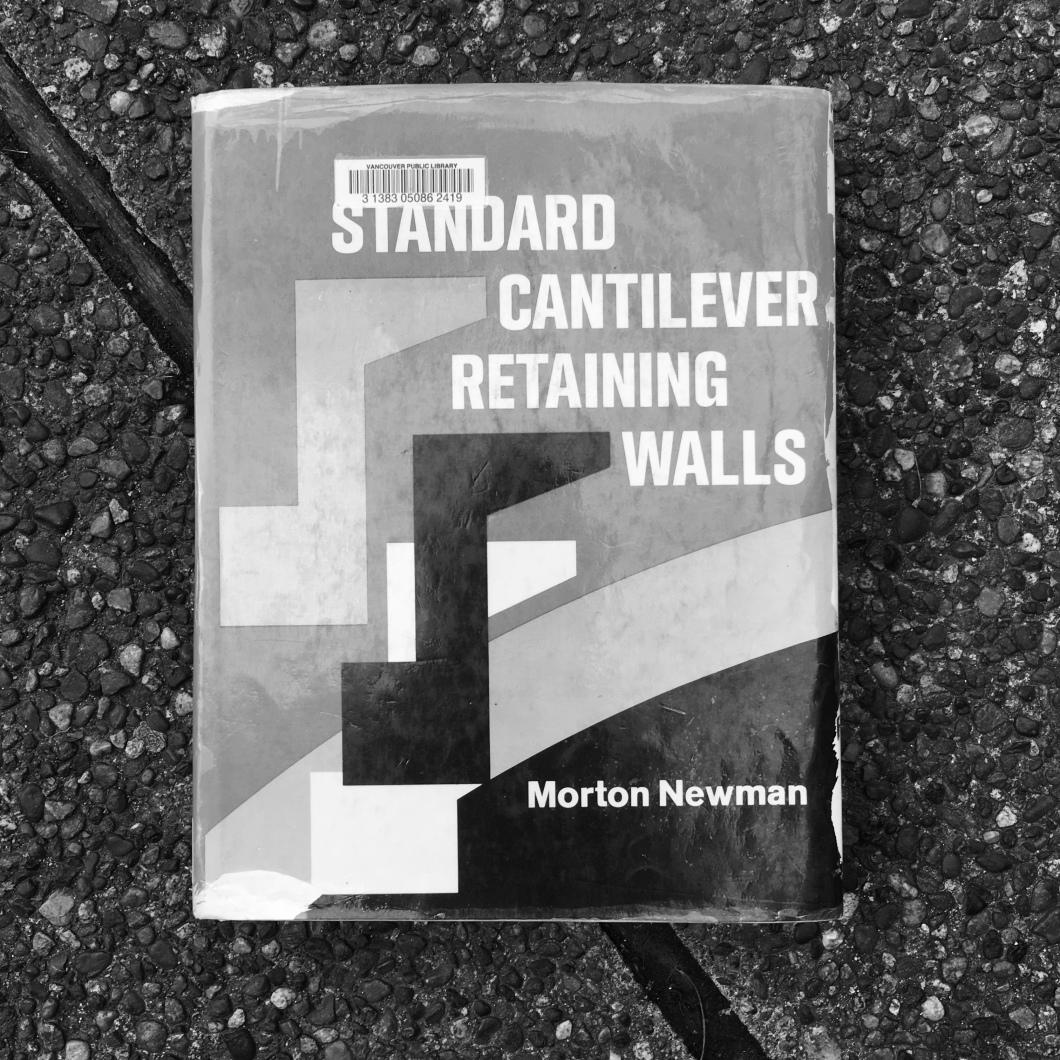 Standard Cantilever Retaining Walls